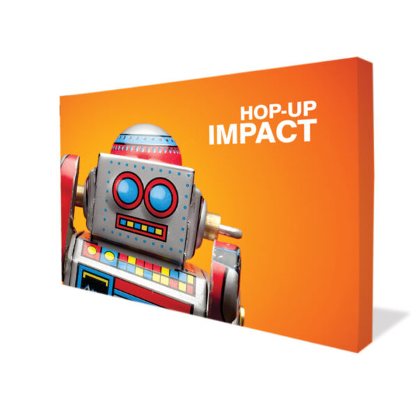 Hop Up Impact Tension Wall front