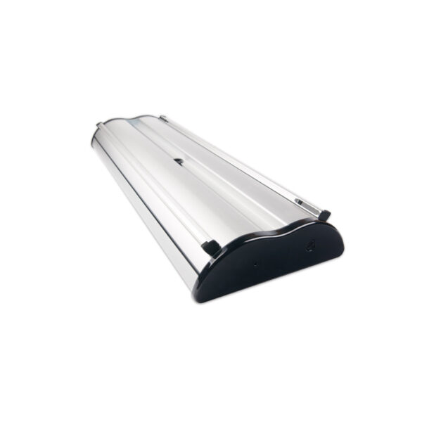 Excaliber 2 roller banner closed
