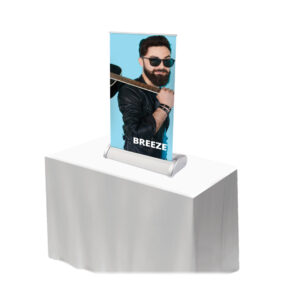 Portable table top display breeze WH36