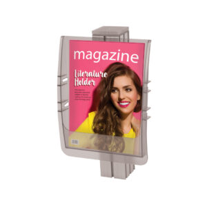 AH5 - Injection Moulded Literature Holders with item