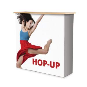 Hop Up Counta front display