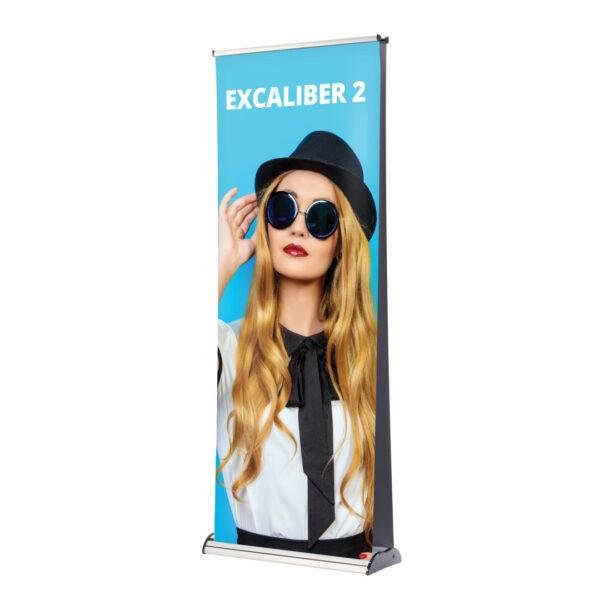 Excaliber 2 roller banner open
