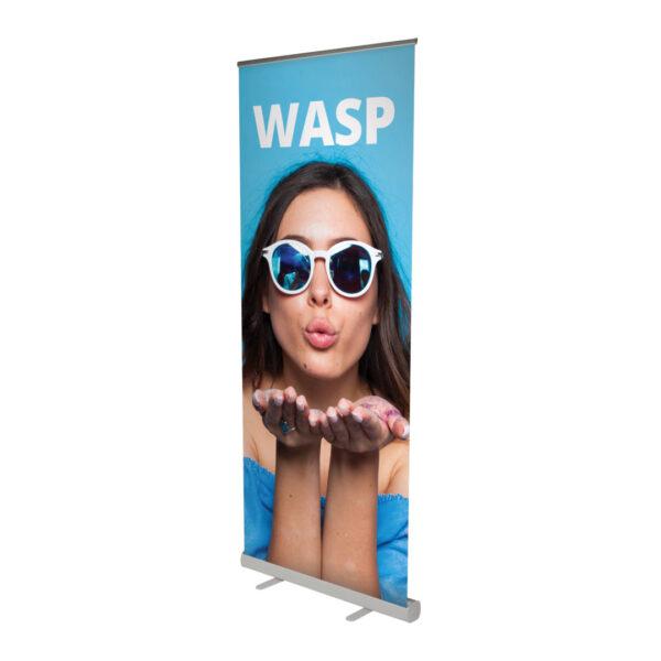 UB204 Wasp Roller Banner open