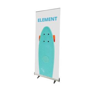 UB146 - Element Roller Banner erected