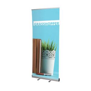 UB191 - Grasshopper Roller Banner erected