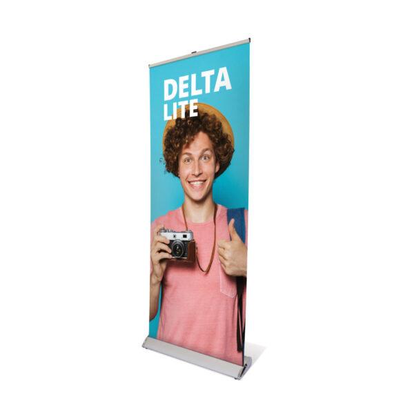 UB205 - Delta Lite Roller Banner erected